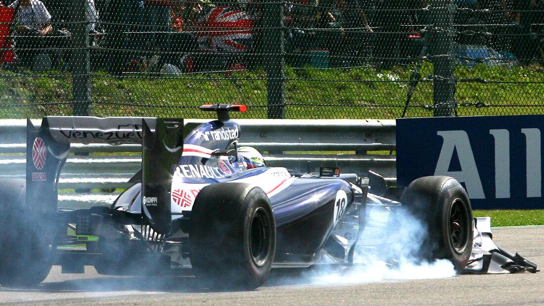 Pastor Maldonado GP Belgien 2012