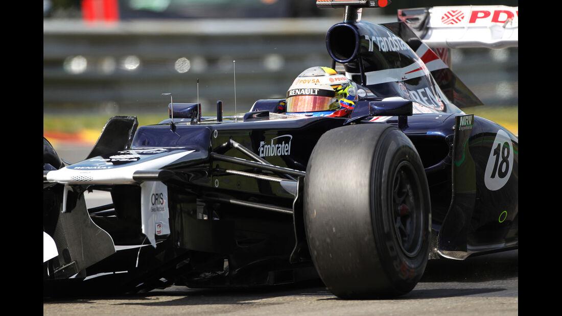 Pastor Maldonado - GP Belgien 2012