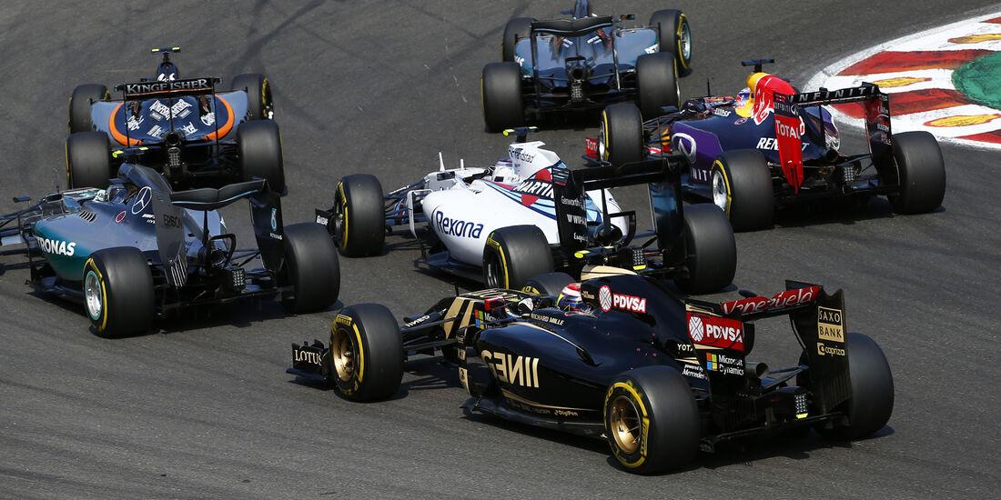 Pastor Maldonado - GP Belgien 2015