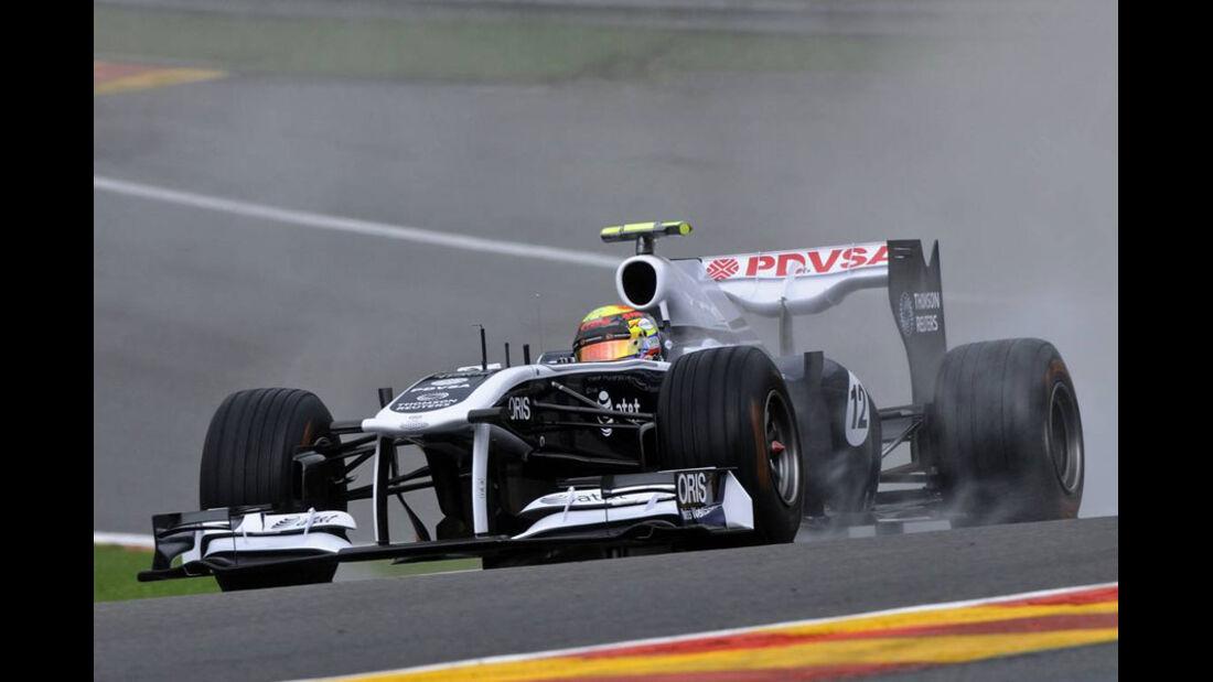 Pastor Maldonado - GP Belgien - Qualifying - 27.8.2011