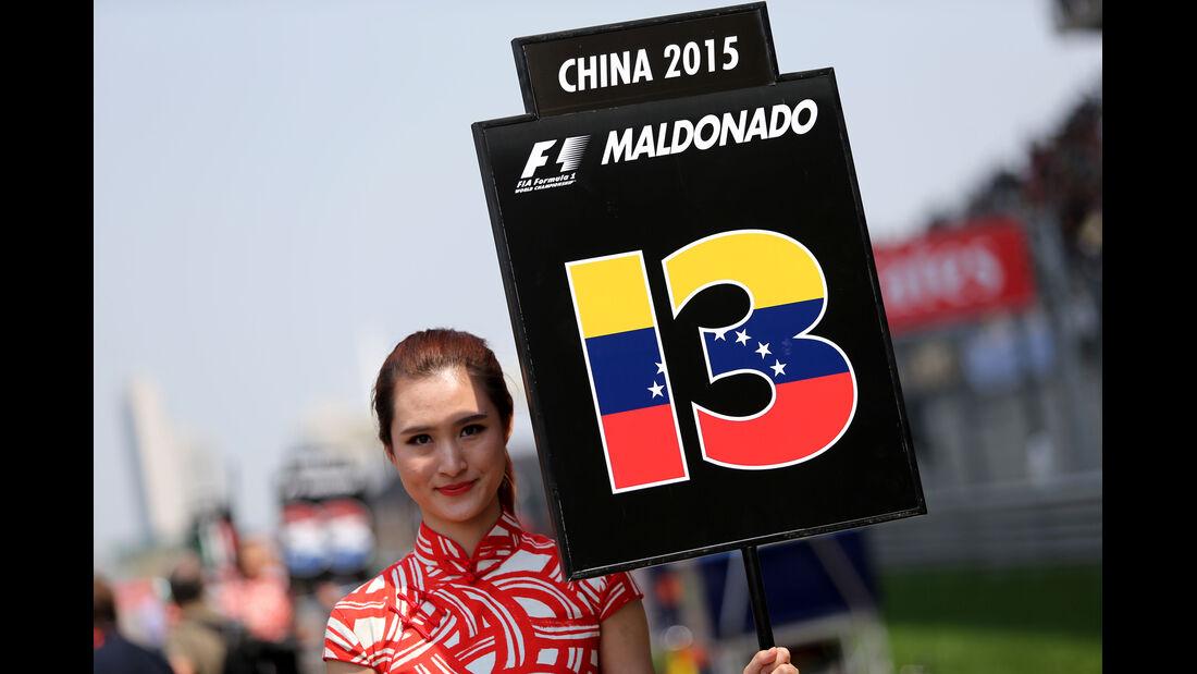 Pastor Maldonado - GP China 2015
