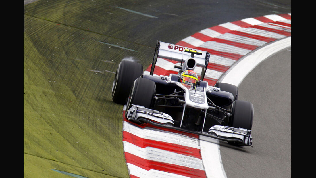 Pastor Maldonado GP Deutschland 2011 Noten