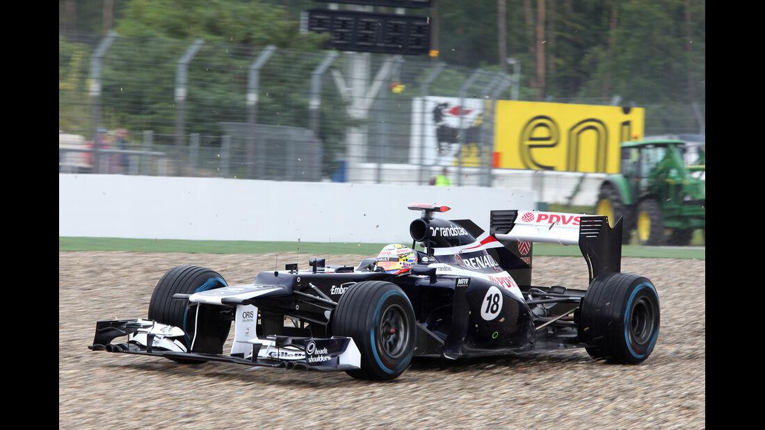 Pastor Maldonado GP Deutschland 2012