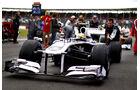 Pastor Maldonado GP England 2011