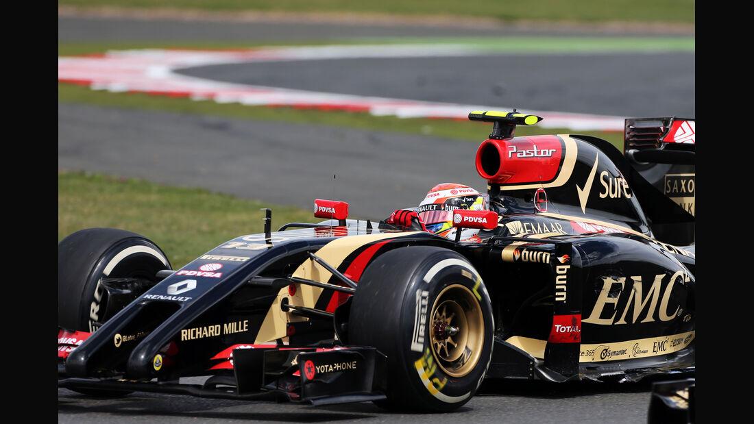 Pastor Maldonado - GP England 2014