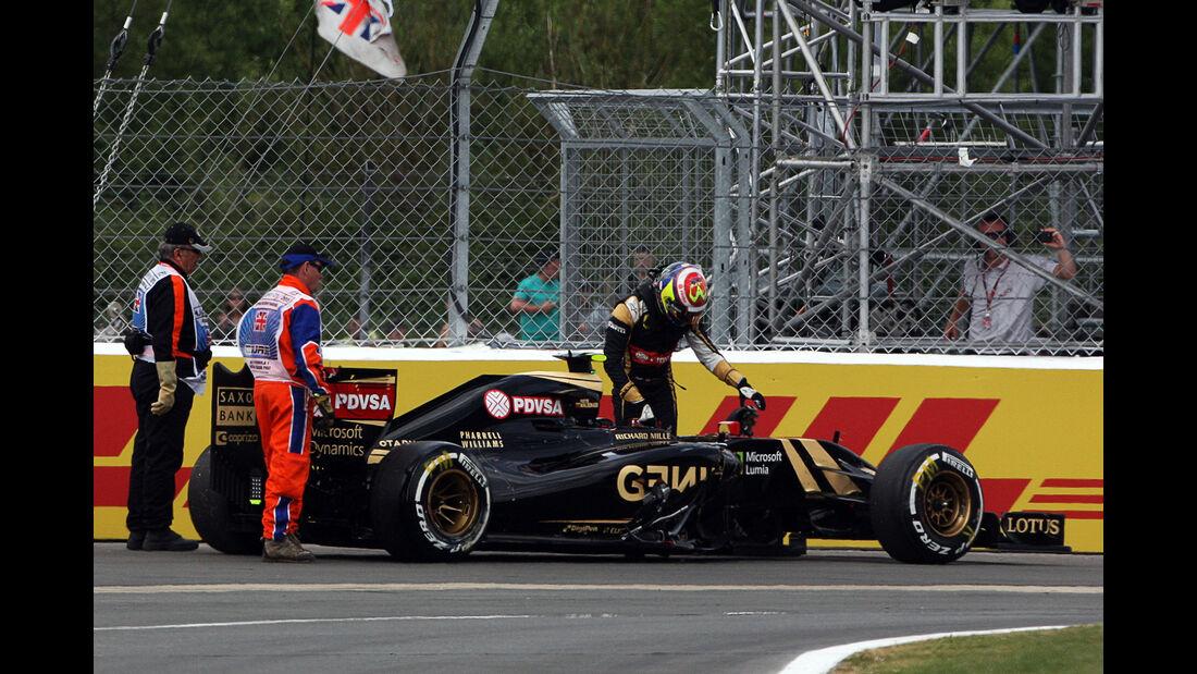 Pastor Maldonado - GP England 2015
