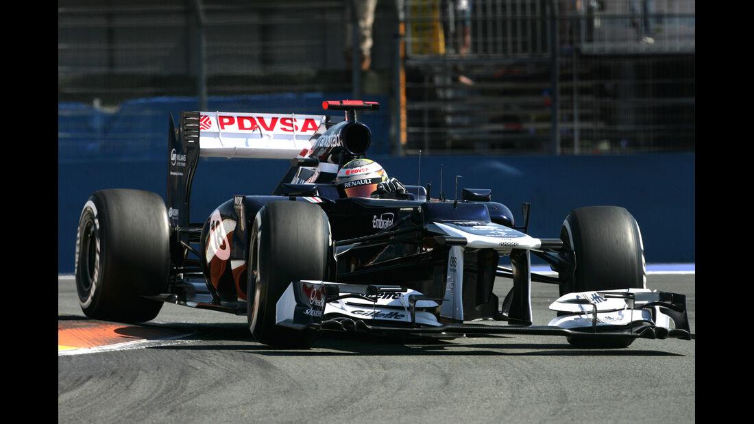 Pastor Maldonado GP Europa 2012