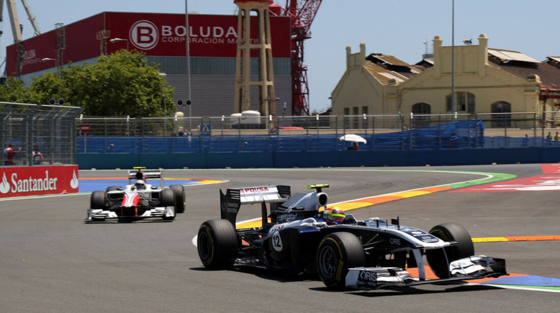 Pastor Maldonado - GP Europa - Qualifying - 25. Juni 2011