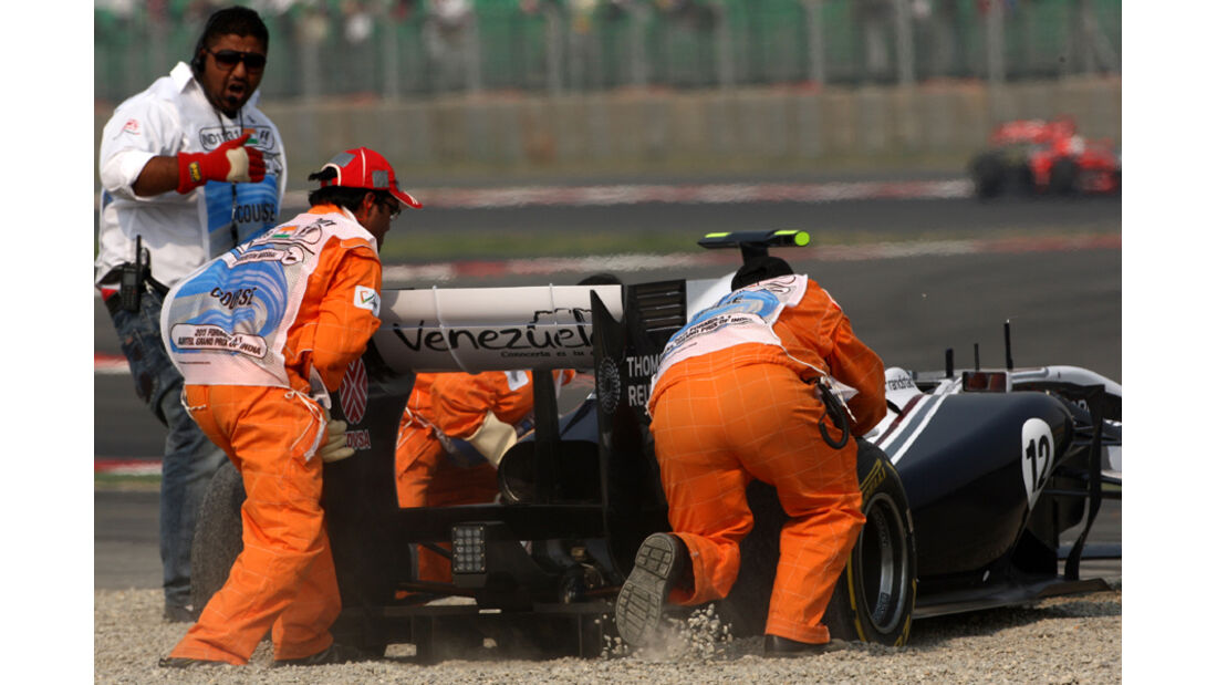 Pastor Maldonado GP Indien 2011