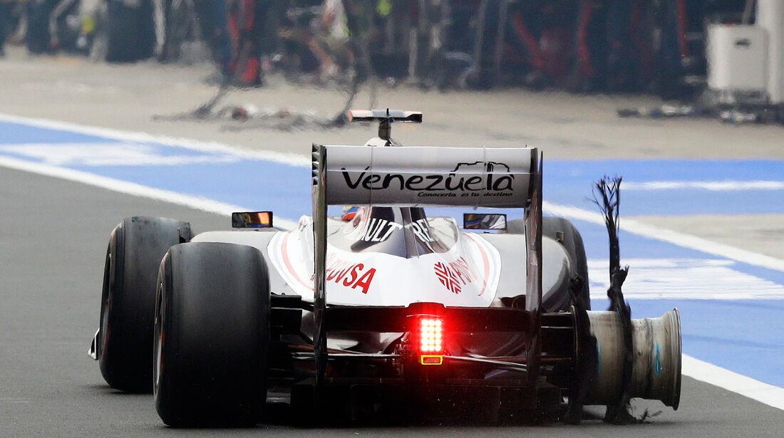 Pastor Maldonado GP Indien 2012