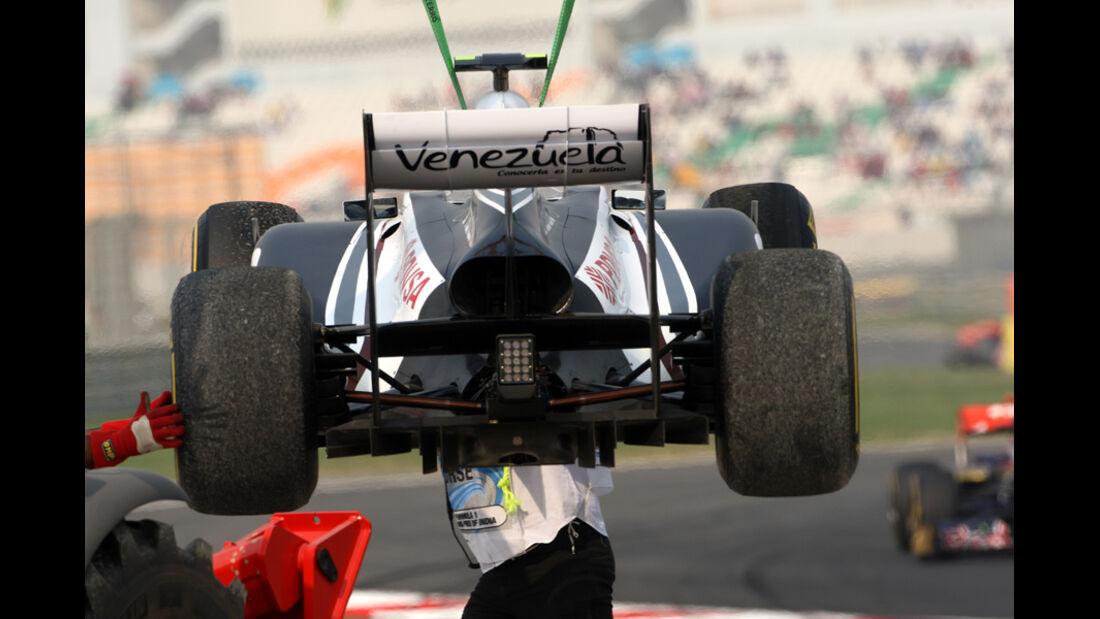 Pastor Maldonado - GP Indien - Training - 28.10.2011