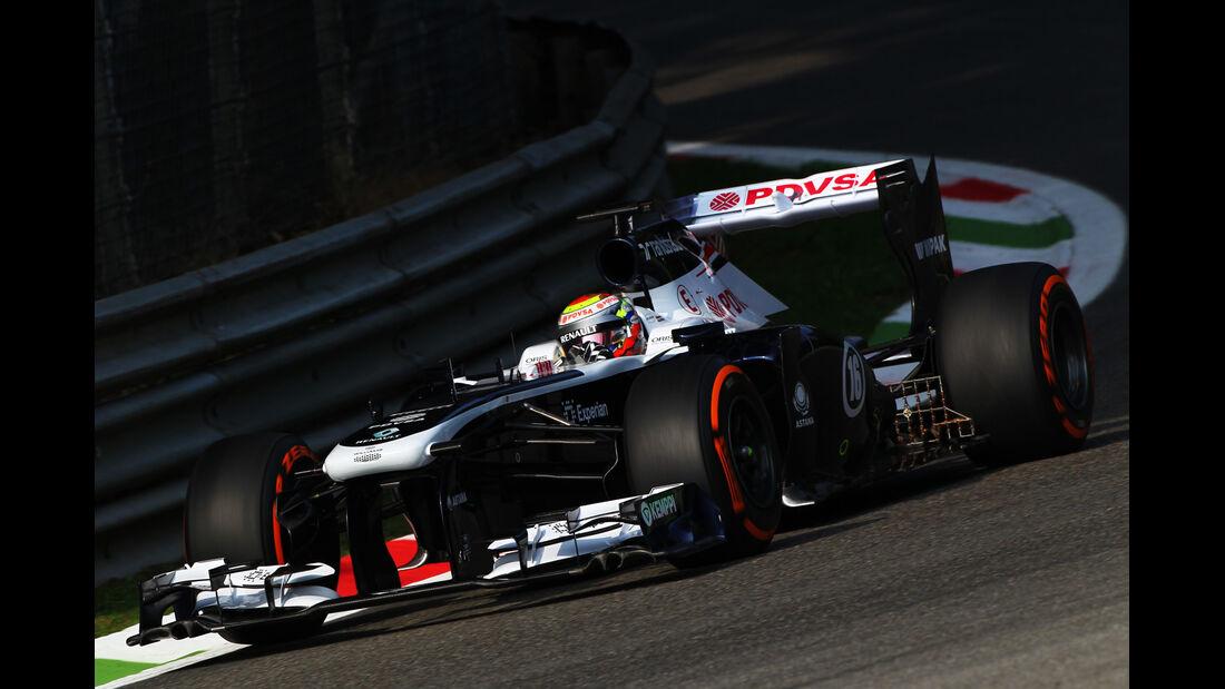 Pastor Maldonado GP Italien 2013
