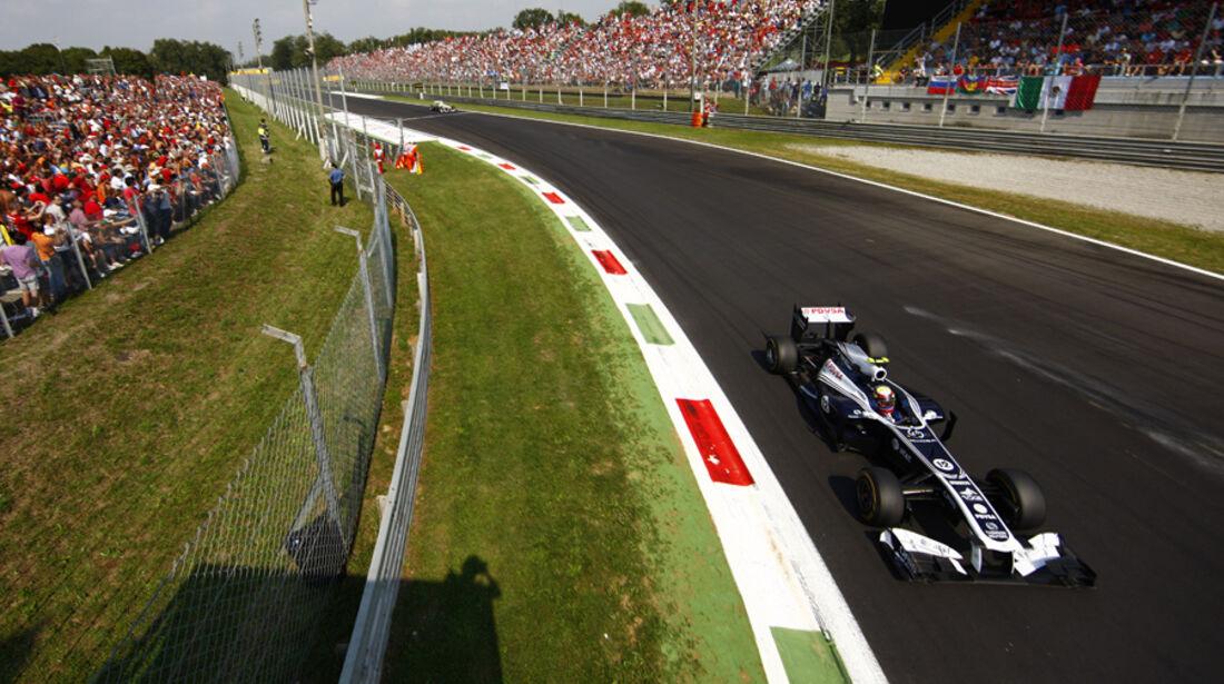Pastor Maldonado GP Italien Monza 2011