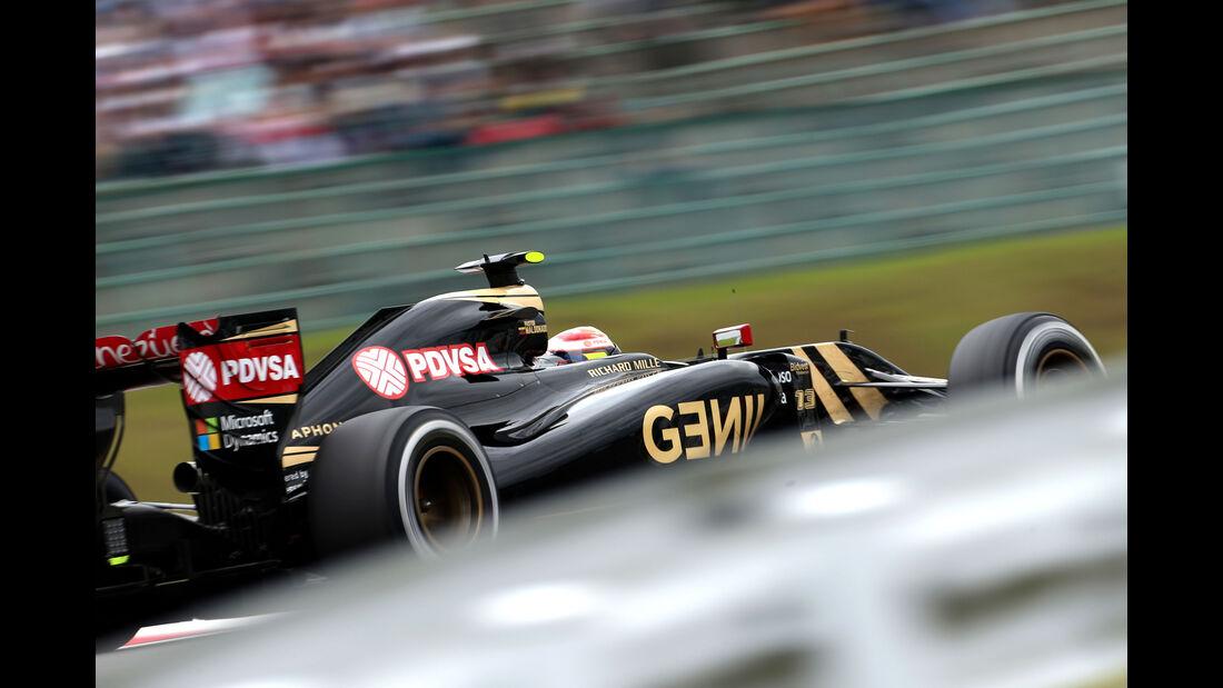Pastor Maldonado - GP Japan 2015