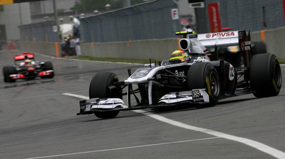 Pastor Maldonado GP Kanada 2011