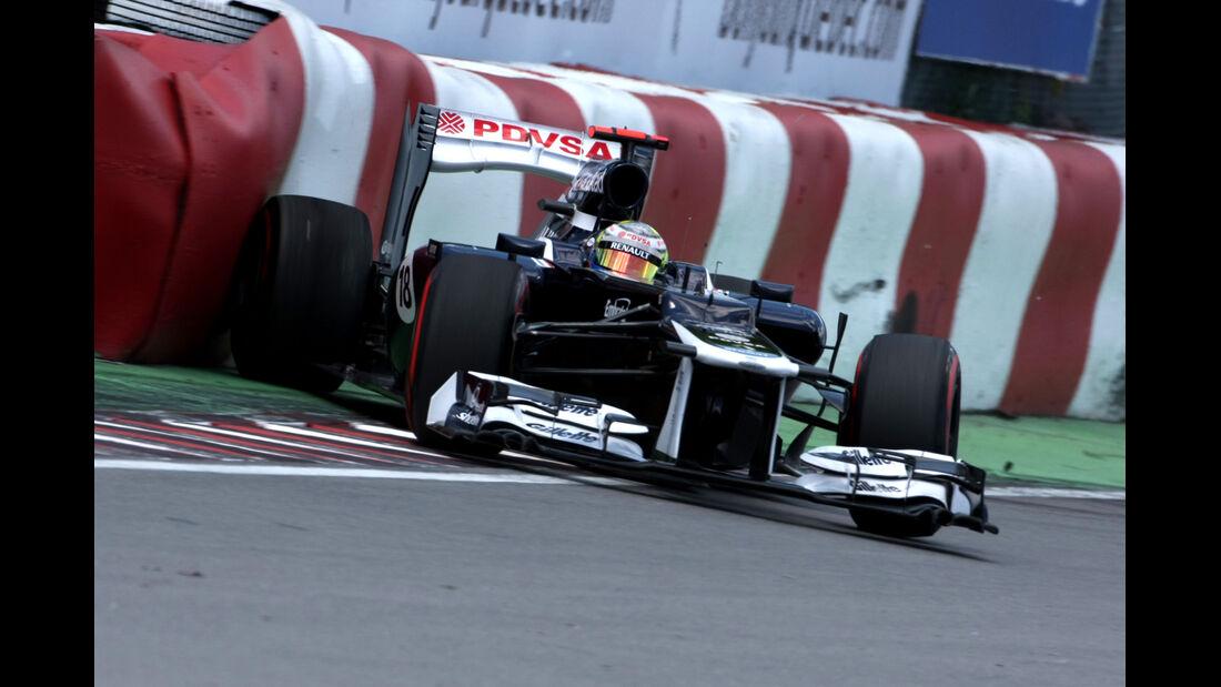 Pastor Maldonado GP Kanada 2012