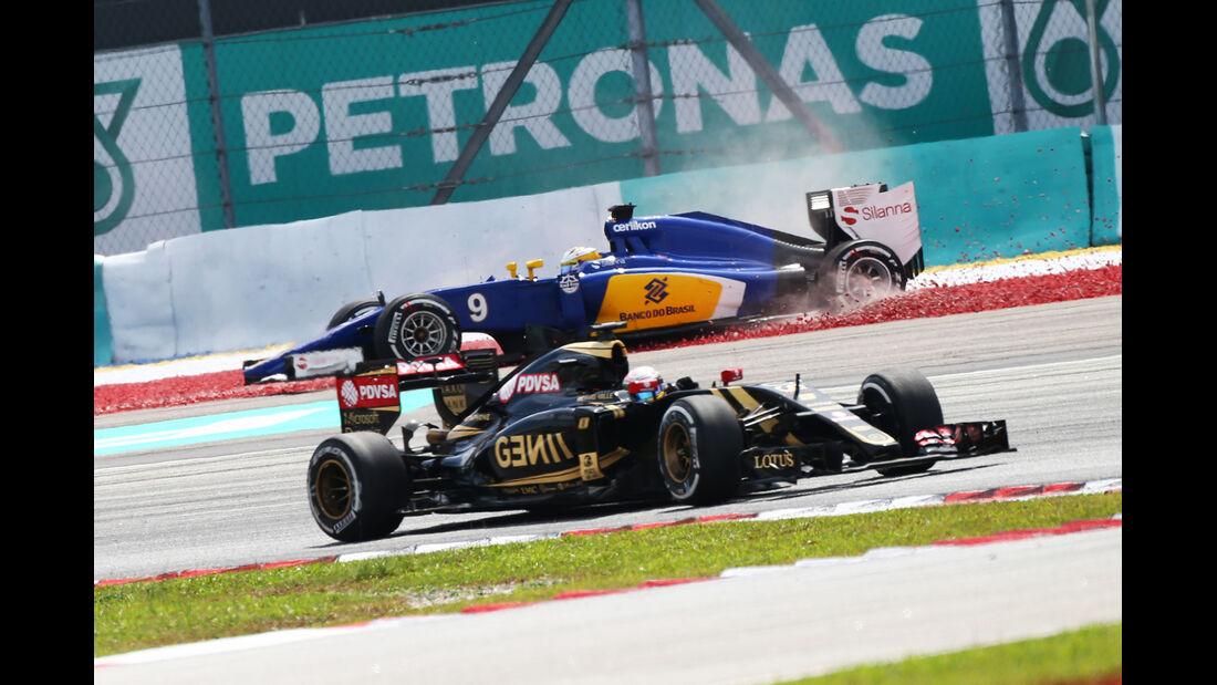 Pastor Maldonado - GP Malaysia 2015
