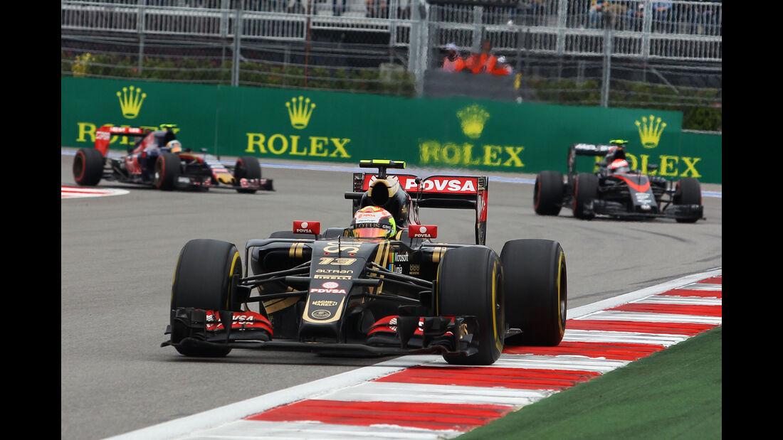 Pastor Maldonado - GP Russland 2015