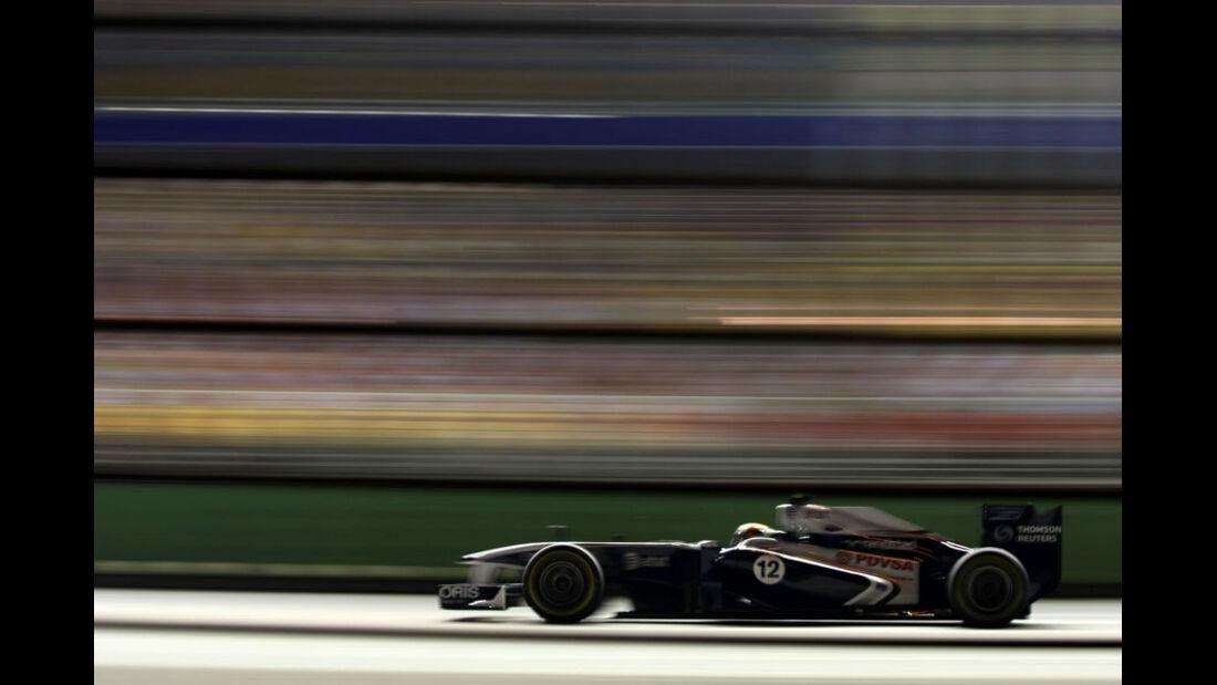 Pastor Maldonado GP Singapur 2011