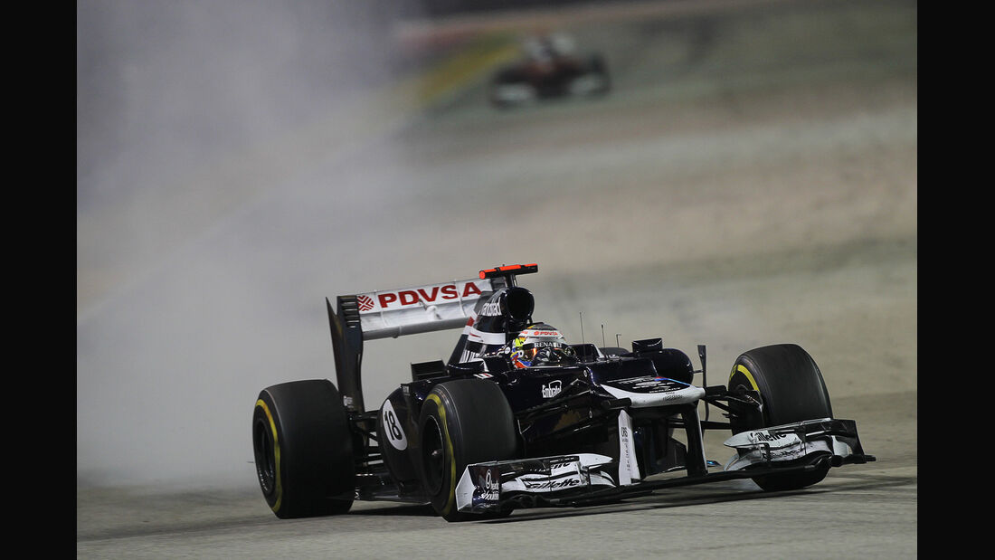 Pastor Maldonado - GP Singapur 2012