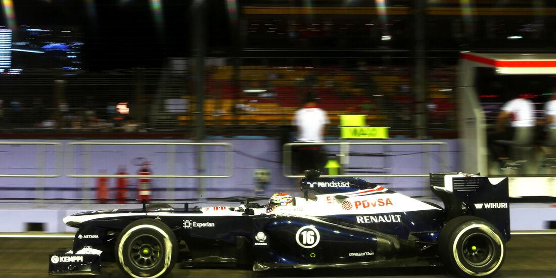 Pastor Maldonado - GP Singapur 2013