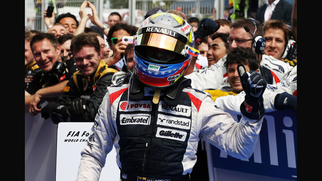 Pastor Maldonado GP Spanien 2012