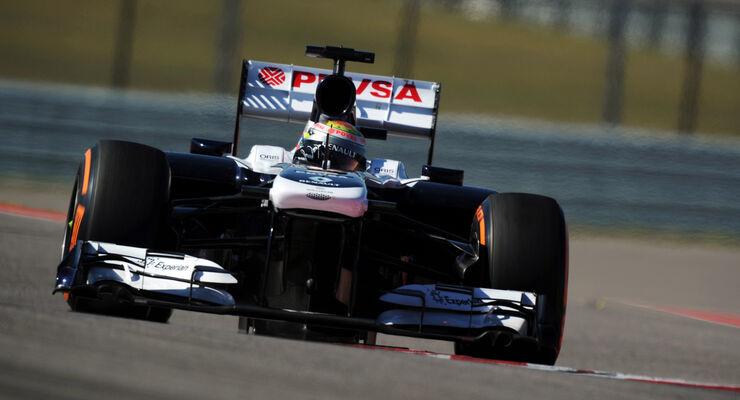 Pastor Maldonado - GP USA 2013