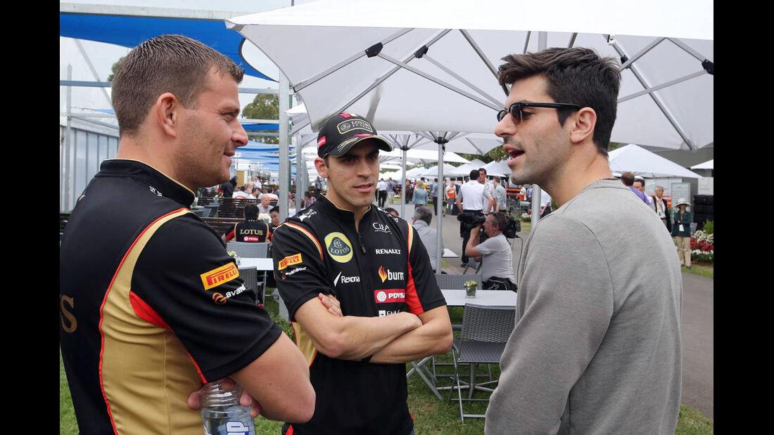 Pastor Maldonado - Jaime Alguersuari  - Formel 1 - GP Australien - 15. März 2014