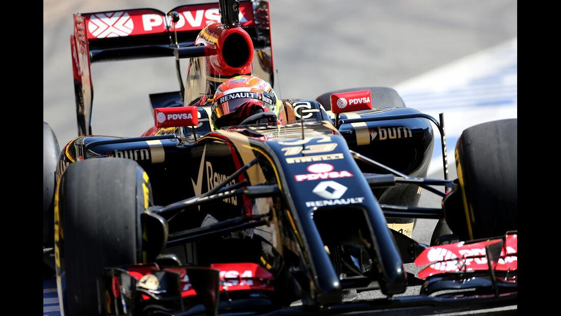 Pastor Maldonado - Lotus - Barcelona - F1 Test 2 - 14. Mai 2014
