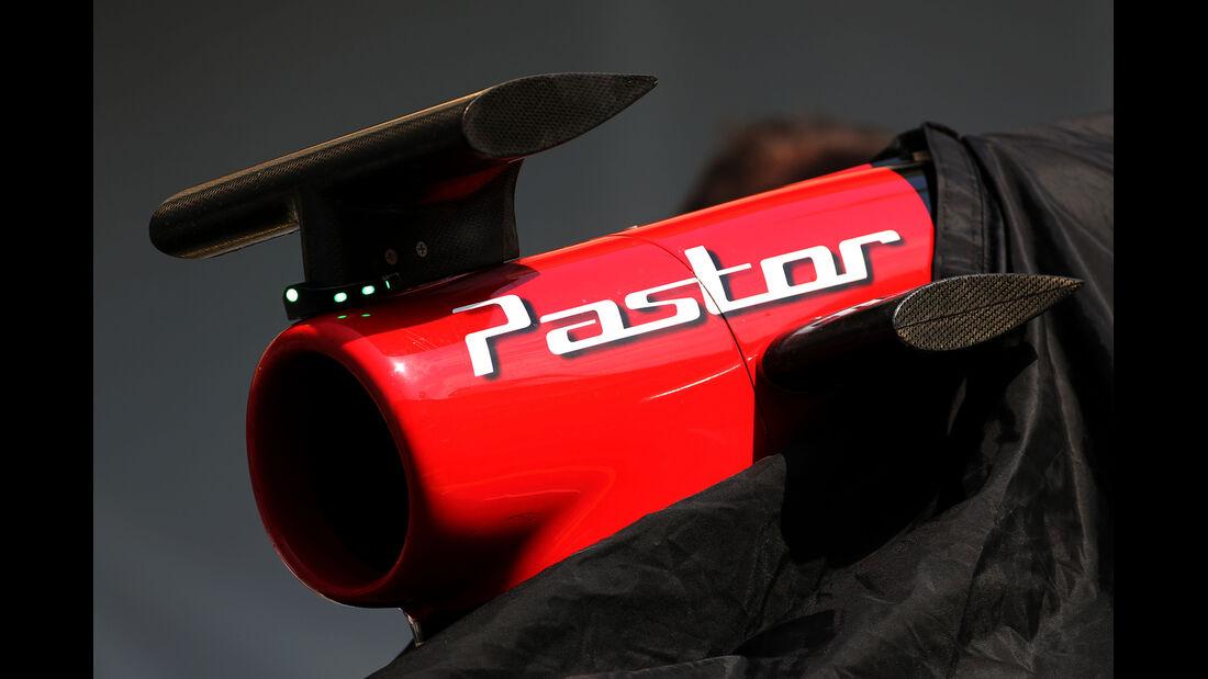Pastor Maldonado - Lotus - Formel 1 - Bahrain-Test 2014