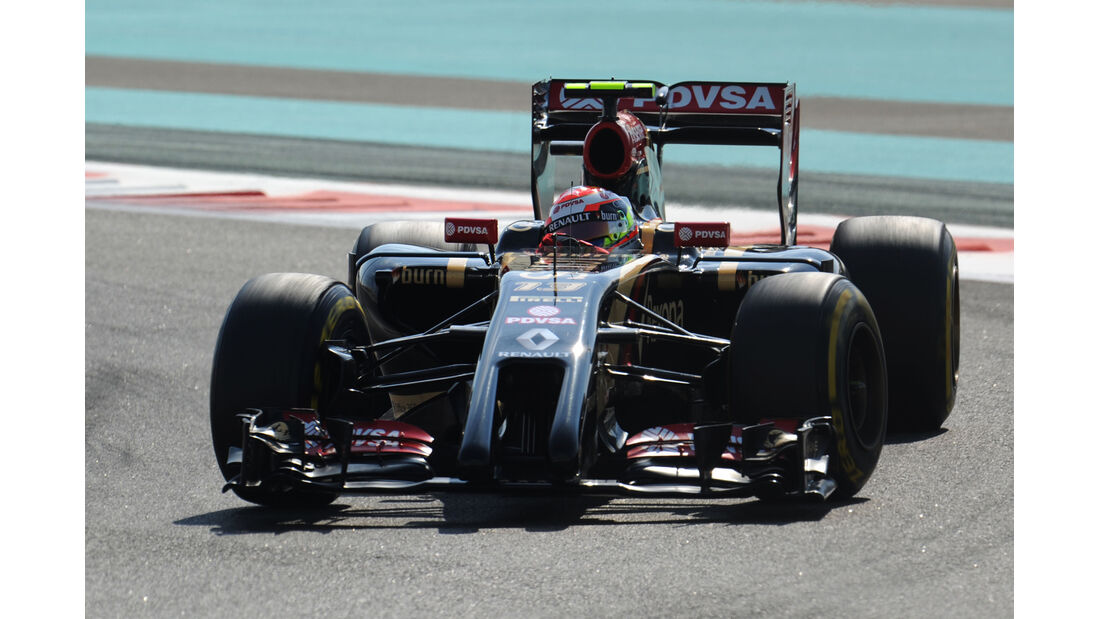 Pastor Maldonado - Lotus - Formel 1 - GP Abu Dhabi - 21. November 2014