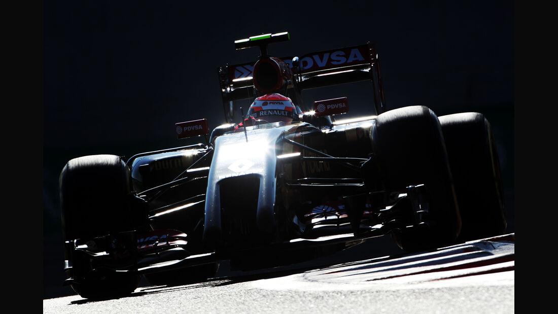 Pastor Maldonado - Lotus - Formel 1 - GP Abu Dhabi - 22. November 2014