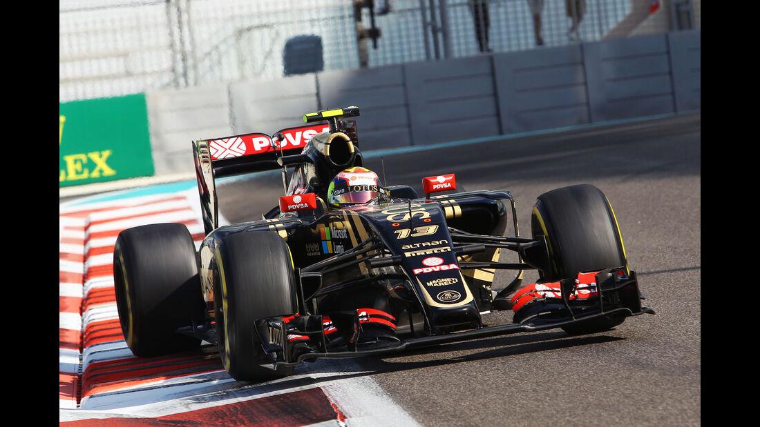 Pastor Maldonado - Lotus - Formel 1 - GP Abu Dhabi - 27. November 2015