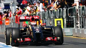Pastor Maldonado - Lotus - Formel 1 - GP Australien - 14. März 2014