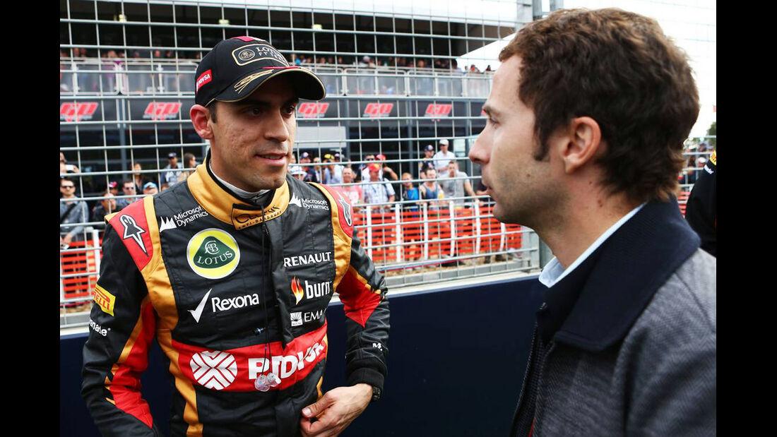 Pastor Maldonado - Lotus - Formel 1 - GP Australien - 16. März 2014