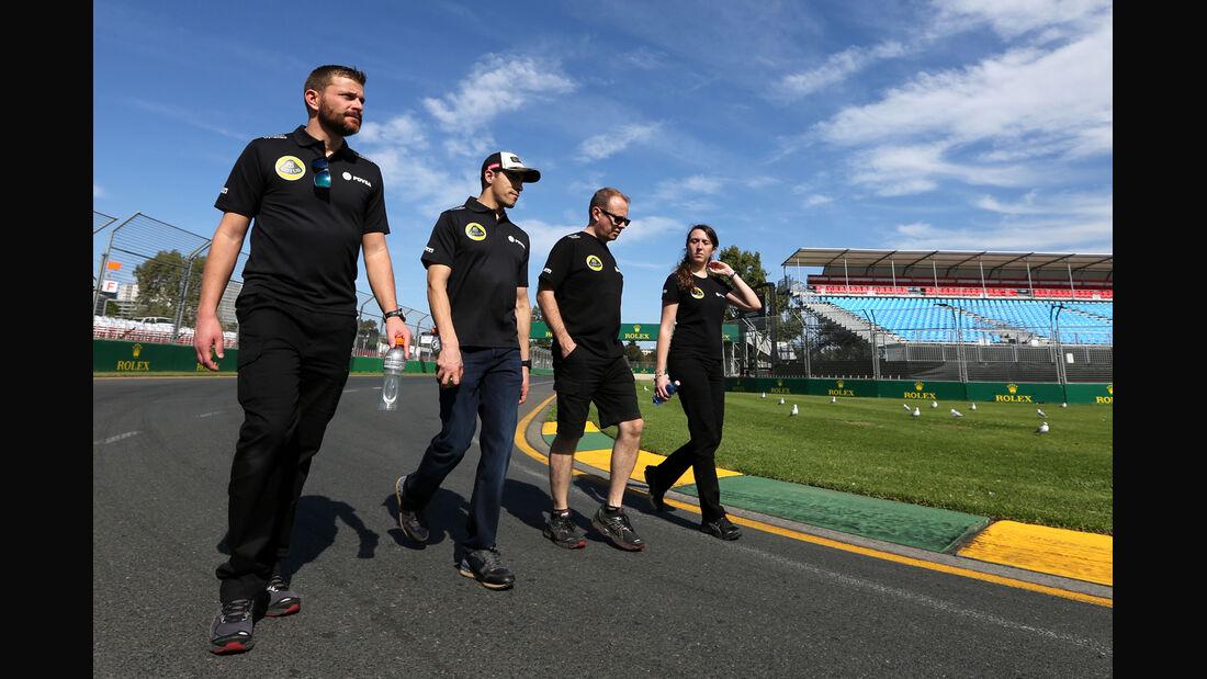 Pastor Maldonado - Lotus - Formel 1 - GP Australien - Melbourne - 11. März 2015