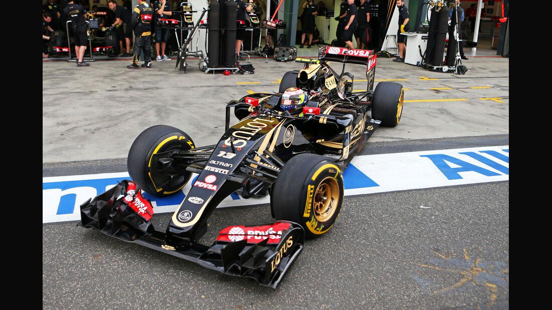 Pastor Maldonado - Lotus - Formel 1 - GP Australien - Melbourne - 14. März 2015