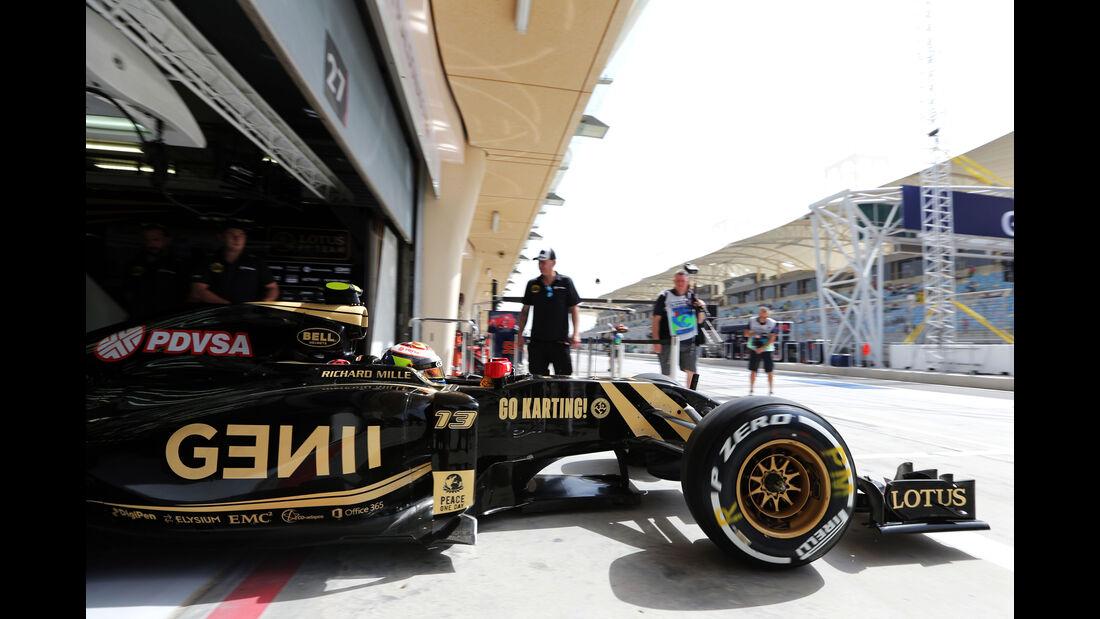 Pastor Maldonado - Lotus - Formel 1 - GP Bahrain - 17. April 2015
