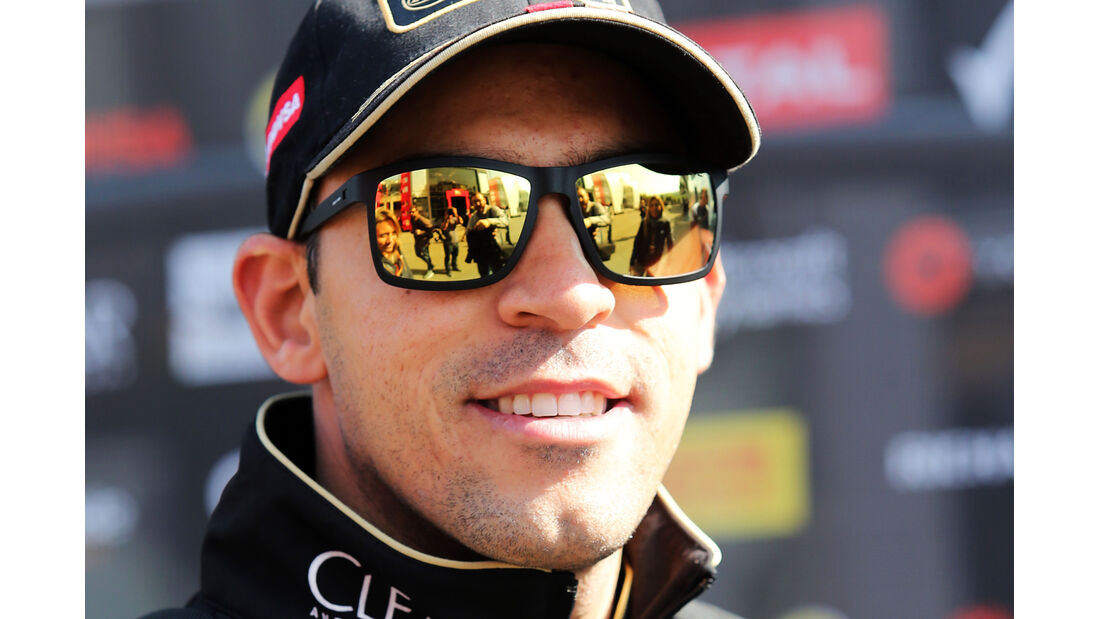 Pastor Maldonado - Lotus - Formel 1 - GP Belgien - Spa-Francorchamps - 21. August 2014