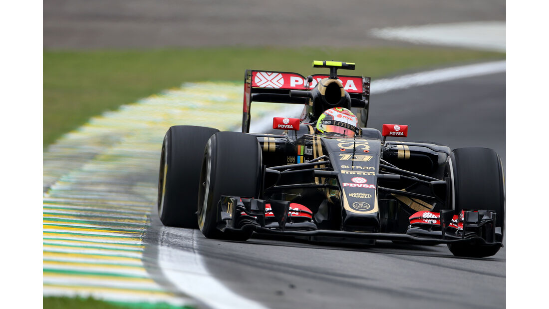 Pastor Maldonado - Lotus - Formel 1 - GP Brasilien- 13. November 2015