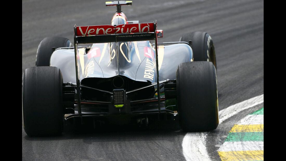 Pastor Maldonado - Lotus - Formel 1 - GP Brasilien - Sao Paulo - 7. November 2014