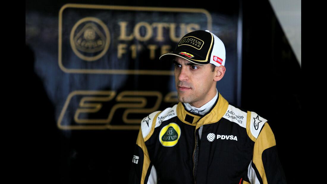 Pastor Maldonado - Lotus - Formel 1 - GP China - Shanghai - 10. April 2015