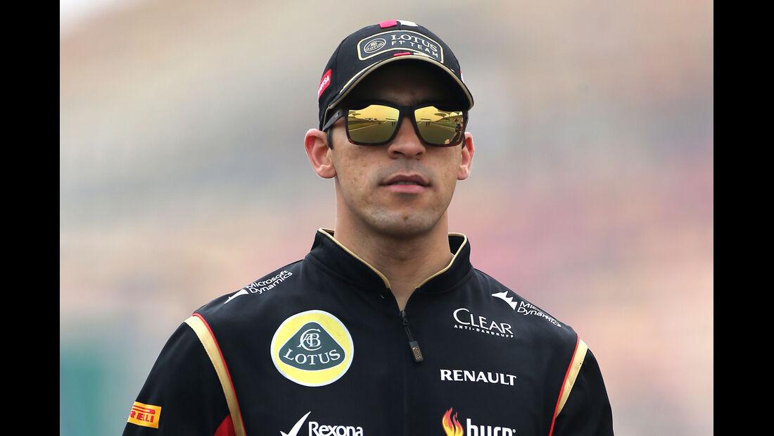 Pastor Maldonado - Lotus - Formel 1 - GP China - Shanghai - 17. April 2014