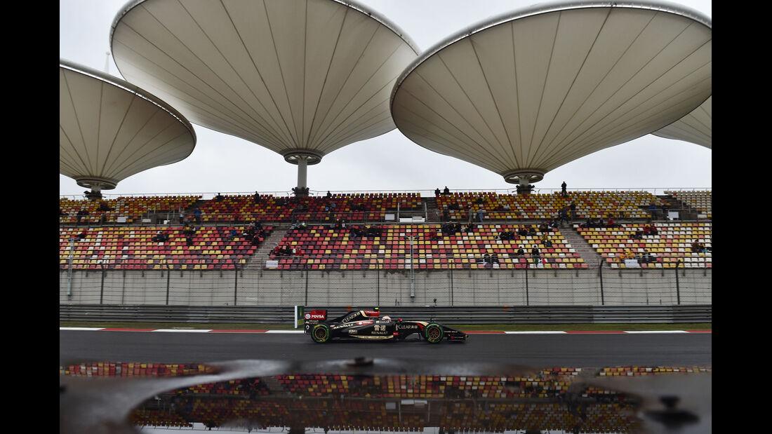 Pastor Maldonado - Lotus - Formel 1 - GP China - Shanghai - 19. April 2014