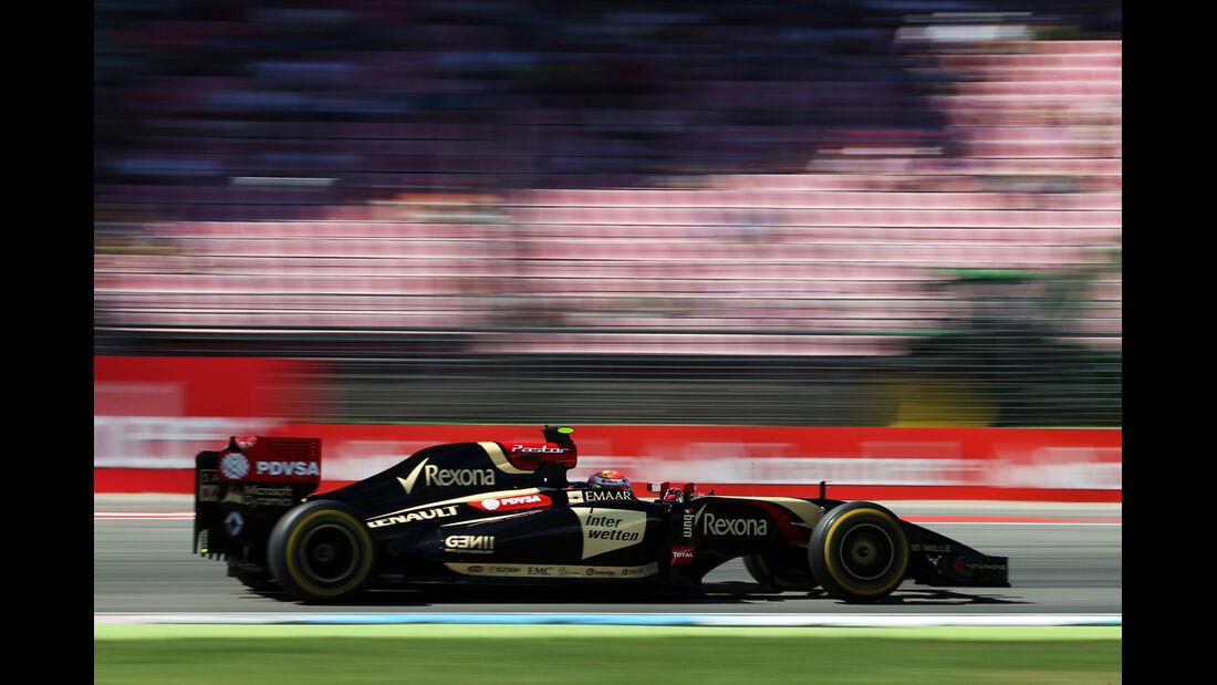 Pastor Maldonado - Lotus - Formel 1 - GP Deutschland - Hockenheim - 18. Juli 2014
