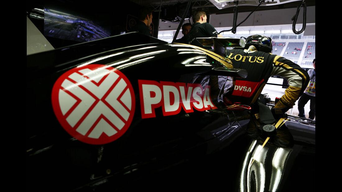 Pastor Maldonado - Lotus - Formel 1 - GP Japan - Suzuka - 25. September 2015