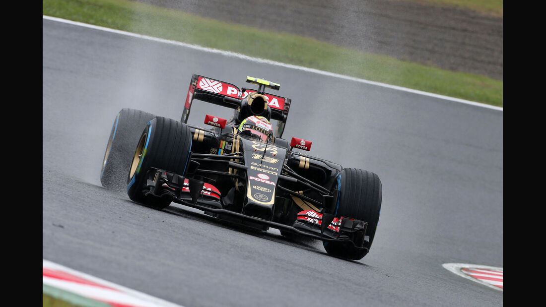 Pastor Maldonado - Lotus - Formel 1 - GP Japan - Suzuka - 25. September 2015