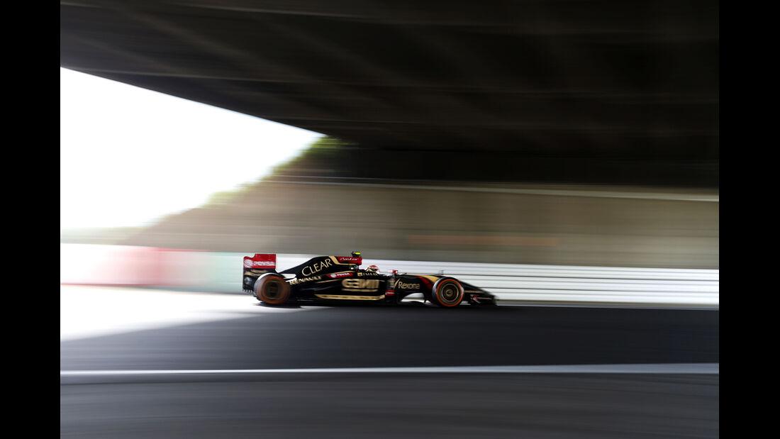 Pastor Maldonado - Lotus - Formel 1 - GP Japan - Suzuka - 4. Oktober 2014