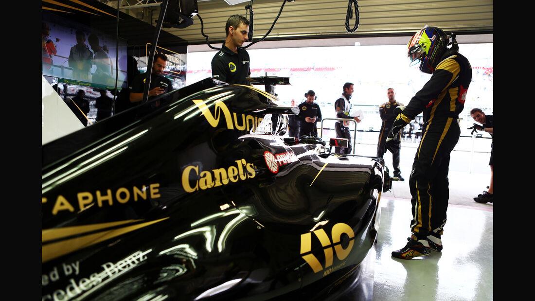 Pastor Maldonado - Lotus - Formel 1 - GP Mexiko - 31. Oktober 2015