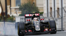 Pastor Maldonado - Lotus - Formel 1 - GP Monaco - 21. Mai 2015